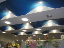 Современные натяжные потолки