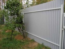 Забор из профнастила: качество выбора
