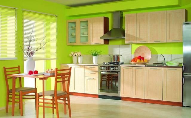 Кухни интерьер без окна