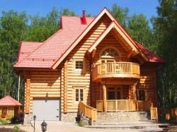 Строительство загородной недвижимости: проекты домов из профилированного бруса