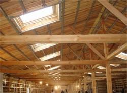 Огнезащита дерева и деревянных конструкций