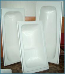 Восстановление ванны с помощью акрилового вкладыша