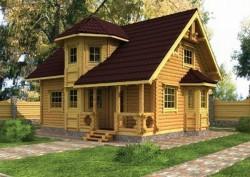 Брусовые дома – классика строительства