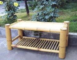 Журнальный столик из бамбука