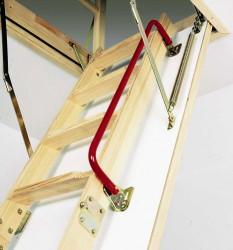 Монтаж чердачных лестниц
