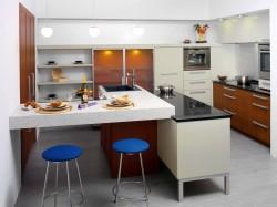 Особенности выбора мебельных фасадов для кухни
