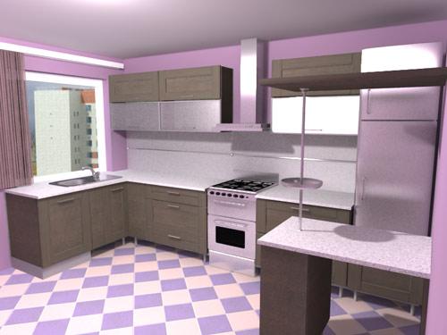 Интерьер кухни 1