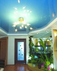 Особенности монтажа светильников на натяжные потолки