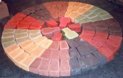 Пластификаторы и пигмент для тротуарной плитки