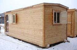 Оптимальный вариант для временного жилья на даче