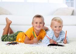 Правила выбора ковра в детскую