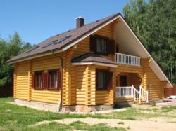 Основные этапы строительства деревянного дома