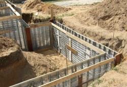 Заливка бетона для фундамента своими руками