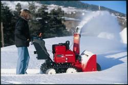 Основные характеристики снегоуборщиков