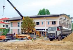 Строительство за городом