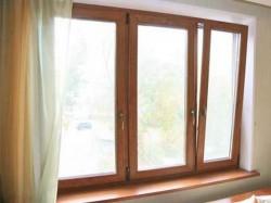 Приобретение деревянных окон