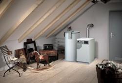 Отопление с использованием газообразного топлива - газовый котел