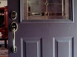 Основные варианты отделки дверей