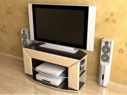 Как выбрать телевизионную тумбу?