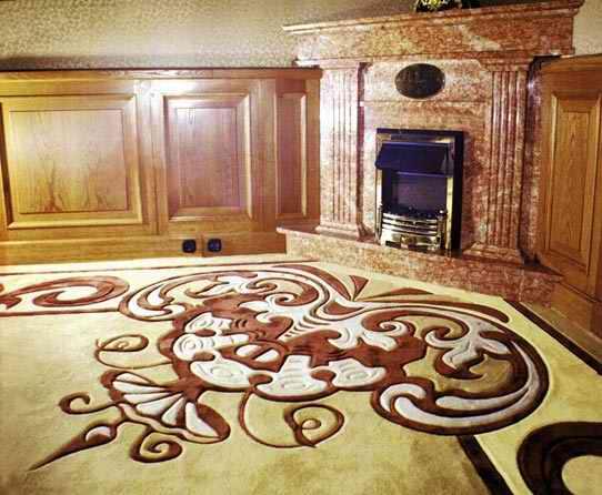 Красивый ковер в гостиную