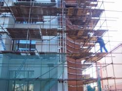 Вышки туры для фасадных работ: особенности применения
