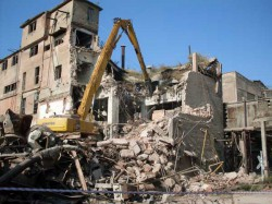 Способы демонтажа зданий