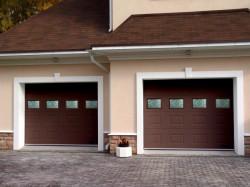 Преимущества использования современных секционных ворот для гаража
