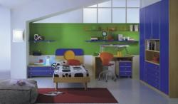 Тумбы для игрушек в детской комнате