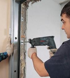 Особенности установки металлической двери