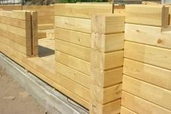 Клееный брус как материал для деревянных домов