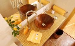 Необычные стилевые решения при оформлении ванной комнаты