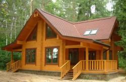 Дома из клееного бруса по финской технологиии.