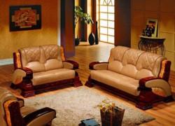 Кожаная мебель: за и против
