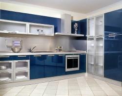 Способы оформления кухонных фасадов