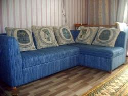 Покрывало на угловой диван. Как быть?