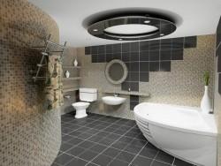 Ванная комната – место спокойствия и тишины