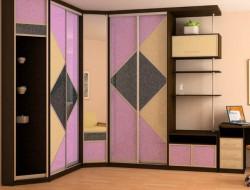 Преимущества угловых шкафов-купе