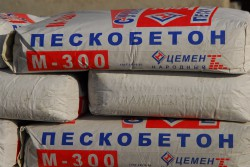 Пескобетон м300 и области его применения