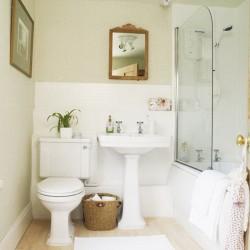 Комфорт в маленькой ванной комнате