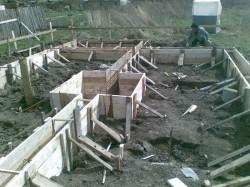 Расчет глубины залегания фундамента для двухэтажного дома.