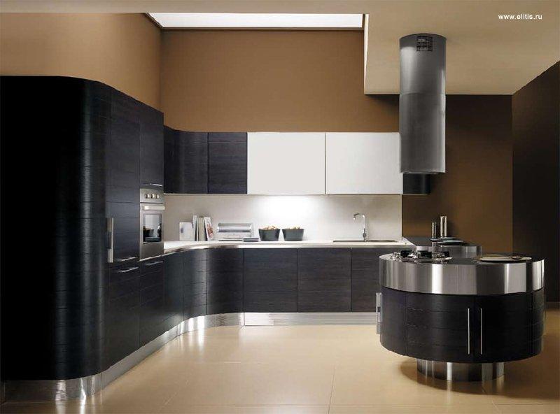 Способы расстановки мебели на кухне