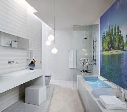 Ванная комната со всеми удобствами