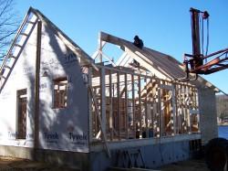 Особенности конструкции каркасного дома