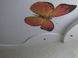 Как натянуть тканевый бесшовный потолок