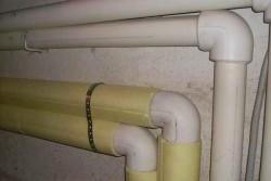 Простой способ утепления водопроводных труб