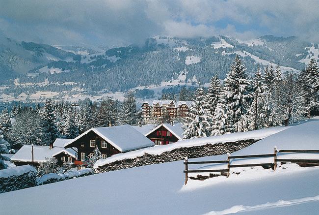 Гштаад швейцария зимний отдых