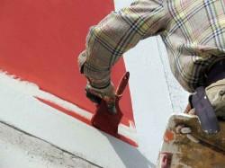Покраска фасада силикатными красками