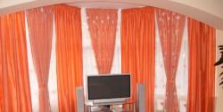 Роль штор в увеличении пространства комнат