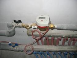 Порядок установки прибора учета тепла