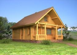Строительство бани из деревянного бруса и ее польза для здоровья